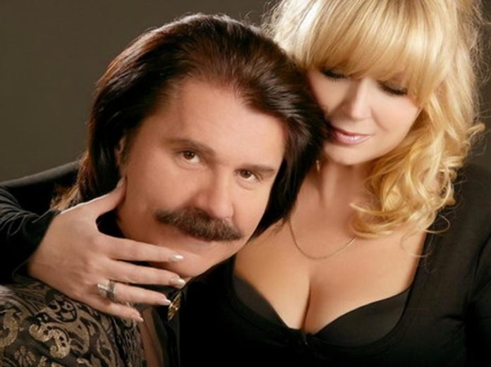 Павло Зибров и его жена Марина