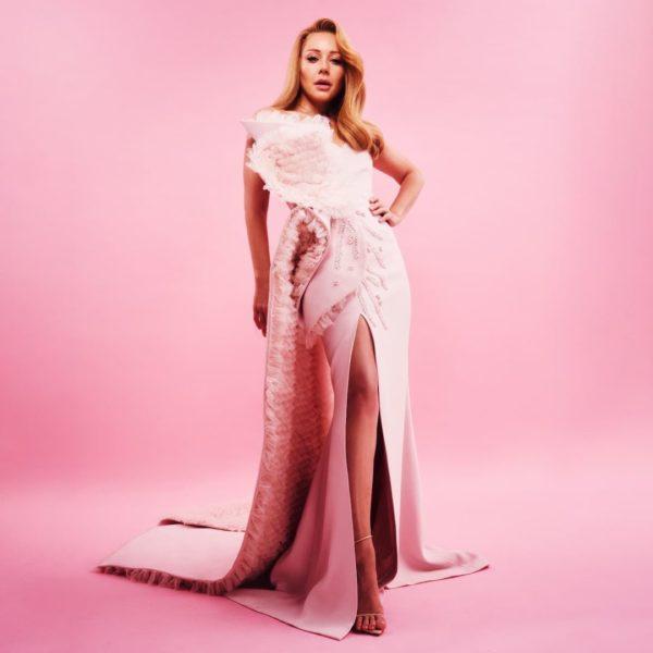 Тина Кароль в дорогом платье