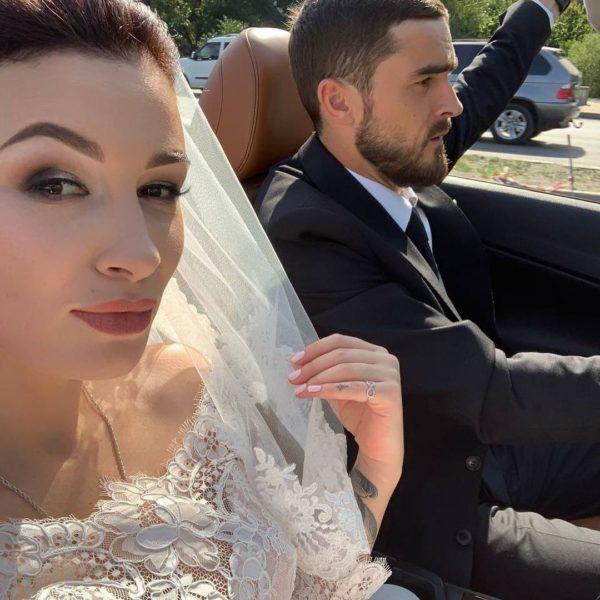Анастасия Приходько с мужем