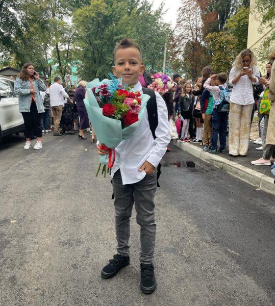 Син Ксенії Мішиной