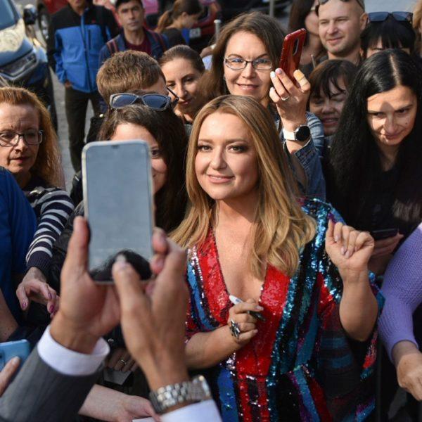 В Киеве открыли именную звезду Натальи Могилевской