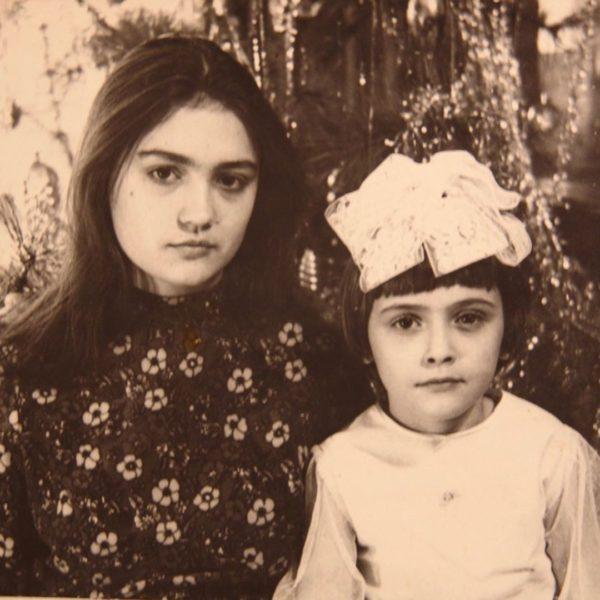 Ольга Сумская в детстве