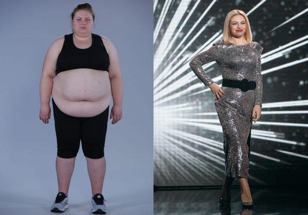 Людмила Чаднова до и после похудения