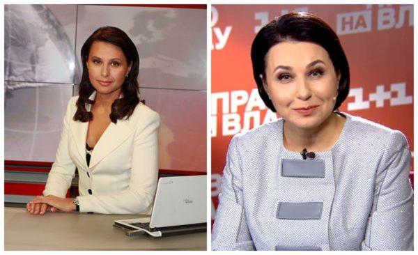 Наталія Мосейчук на початку кар'єри і зараз