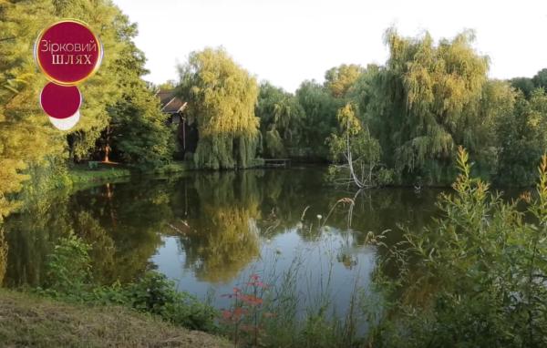 Как выглядит дом Зиброва - озеро