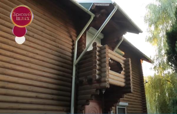 Как выглядит дом Зиброва - баня