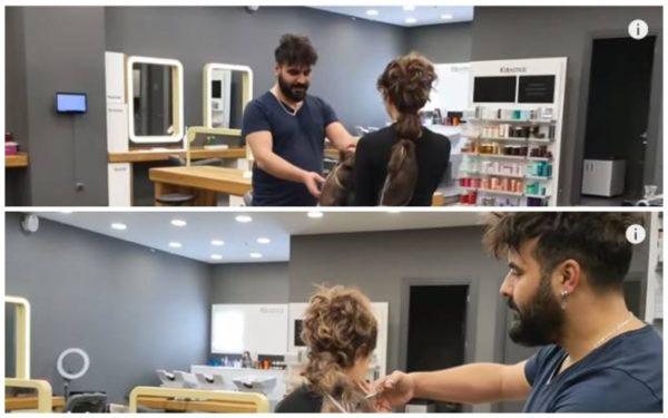 Стефані зважилася підстригти волосся