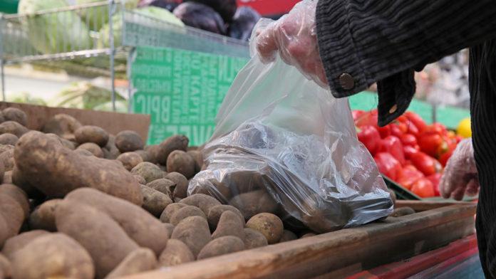 Картопля в супермаркеті