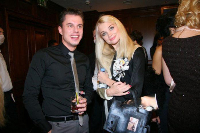 Андрій Доманський та Лідія Таран на вечірці