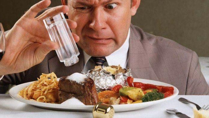 Секрет, как исправить пересоленное блюдо