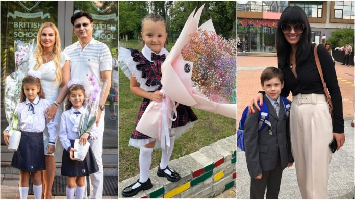 Як діти українських зірок вбралися на 1 вересня
