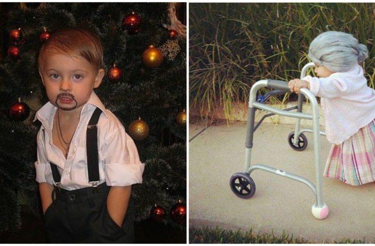 Самые смешные и нелепые детские костюмы на Новый год
