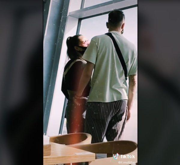 Ксенію Мішин та Олександра Еллерт сфотографували в аеропорту після розставання