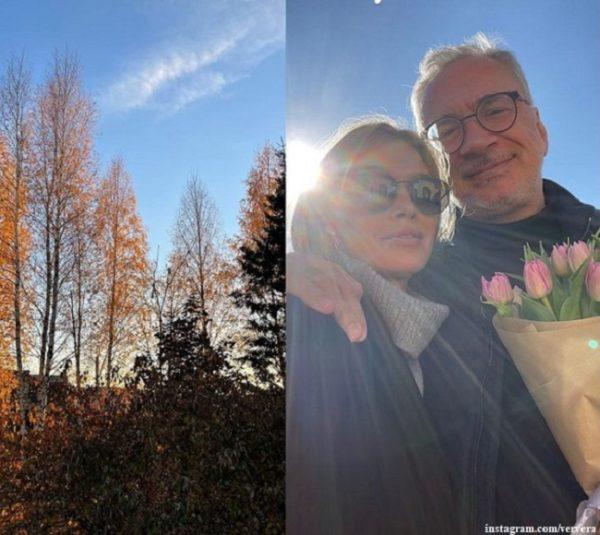 Вера Брежнева показала, как провела выходной с любимым Меладзе