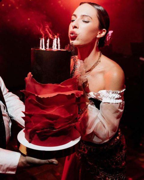 Вечеринку ко Дню рождения Кристины организовывал ее муж Владимир Остапчук
