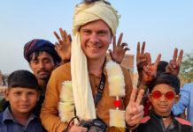 Дмитрий Комаров в Пакистане