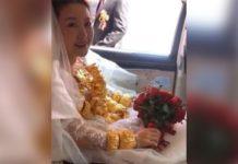 Невеста и 60 кг золотых украшений